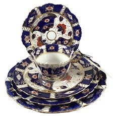 "Royal Crown Derby, ""Imari"" Stlye China Group"