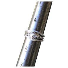 Diamond Wedding Ring 3 Piece Set