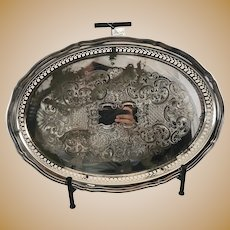 Oneida Silver Plated Vanity Tray