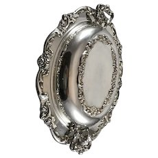 Lunt Silversmiths Silver Plated Covered Casserole Dish