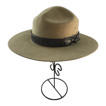 US National Park Service Flat Hat Montana Pinch