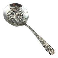 Sterling Silver Kirk & Sons Repousse Candy/Bon Bon Spoon