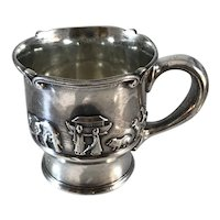 Gorham Sterling Silver Noah's Ark Baby Cup
