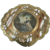 Gilt Italian Compact with Miniature painting