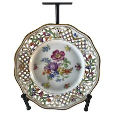 """Bavarian """"Chateau"""" Plate by Schumann, Germany"""