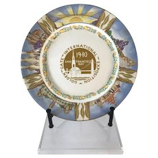 1940 San Francisco Golden Gate International Exposition Plate