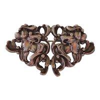 Antique William B. Kerr Sterling Silver Art Nouveau Gibson Girl Brooch