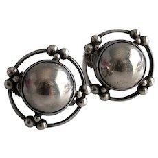 Georg Jensen Sterling Modern Earrings