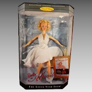 Barbie as Marilyn Collectible Doll Unopened in Original Box Seven Year Itch