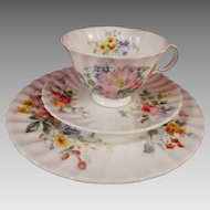 Royal Doulton Fine Bone China Arcadia Trio - Cup, Saucer, Plate