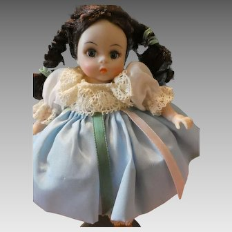 "Madame Alexander Doll ""Israel"" 8 'Inch Doll with Stand and Box #568"