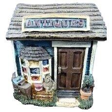 Antiques Shop Box Removable Roof