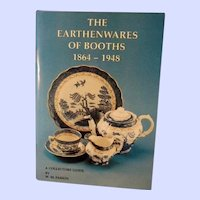 The Earthenwares of Booths 1864-1948, A Collectors Guide