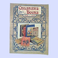 Children's Books 1850 to 1950 Collector's Guide 1997