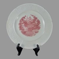 Wedgwood Wellesley College Chapel Plate