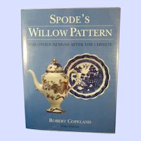 Spode's Willow Pattern And Other Designs After The Chinese, Third Edition, 1999
