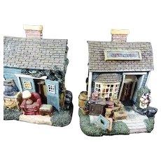1995 Figi Graphics Antique Toy Shop Bookends