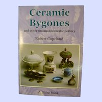 Ceramic Bygones and other unusual domestic pottery by Robert Copeland, A Shire Book, 2000