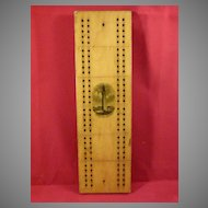 Mauchline Ware Cribbage Board Bunker Hill Monument View