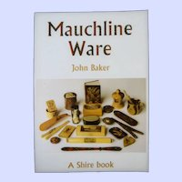 Mauchline Ware Shire Book by John Baker