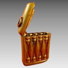 Vintage Match Holder Vesta Case