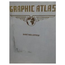The Graphic Atlas of the World by John Bartholomew,  1941