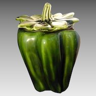 Vintage McCoy Green Pepper Cookie Jar
