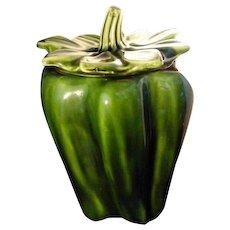 Vintage McCoy Green Pepper Cookie Jar