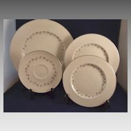 4 Royal Doulton China Dishes Cadence Pattern TC1007