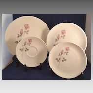 Royal Doulton China Dishes 'Pillar Rose' Pattern TC1011
