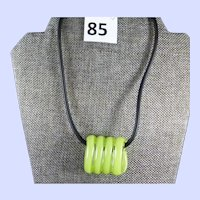 Kosta Boda Sweden Glass Necklace