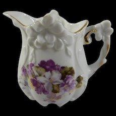 Charming Vintage Creamer with Violets