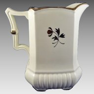Red Cliff Tea Leaf Ironstone 64 oz. Pitcher