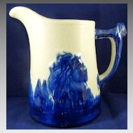 Vintage 8 Inch Tall Sleepy Eye Pitcher Read the Background