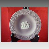 Wedgwood Lilac Jasperware Round Pin Dish
