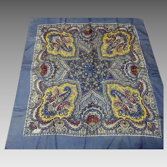 Blue Liberty of London Scarf