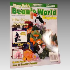 Beanie World Magazine Vol. 1 No. 4 March/April 1998 complete with poster
