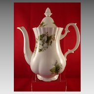Royal Albert Trillium Coffee Pot