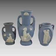 Three Occupied Japan Vases c. 1945-52