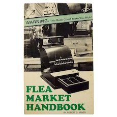 1981 Flea Market Handbook signed by the author