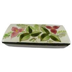 Stangl Pottery Box Trillium Flower Design #3793 c. 1948-52