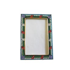 Vintage RECTANGULAR R1 Photo Frame in Millefiori Micro Mosaic – From Italy - 1960's - Rare