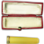 Yellow Amber Vintage Cased Cigarette/Cigarillo Holder 18k Gold Rim UNUSED
