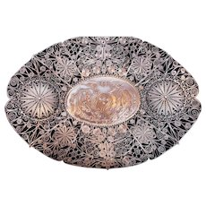 Chinese Filigree Tray