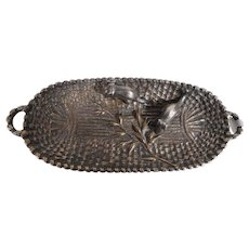 Bronze Tray with Mice