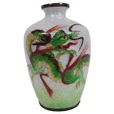 Miniature Japanese Cloisonne Vase