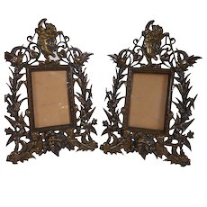 Pair of Bronze Picture Frames