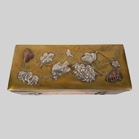 Japanese mixed metal Box