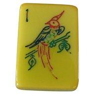 "Own a beautiful piece of history - vintage ""ROYAL DEPTH CONTROL"" Mah Jong game - 152 tiles"
