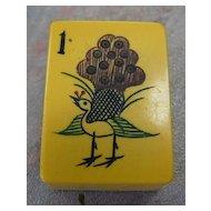 Vintage CHINESE BAKELITE Mah Jong game - Turkey style